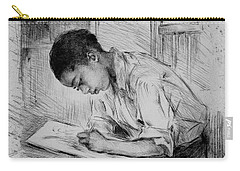 Carry-all Pouch featuring the photograph The Artist by Pennie McCracken