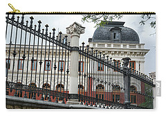 The Back Of The Ministry Of Agriculture Building In Madrid Carry-all Pouch