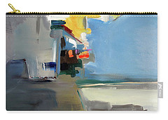 Carry-all Pouch featuring the painting The Blue Way by John Jr Gholson