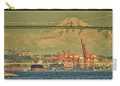 The Bridge In English Bay Carry-all Pouch