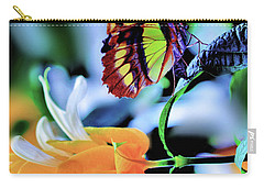 The Charm Of A Butterfly Carry-all Pouch