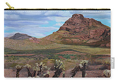 The Cholla At Mount Mcdowell, Arizona Carry-all Pouch