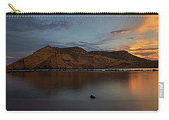 The Closed Cove In Aguilas At Sunset, Murcia Carry-all Pouch