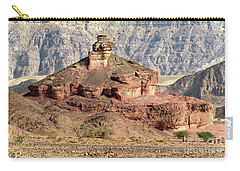 The Colored Bolt Hill At Sunrise Carry-all Pouch