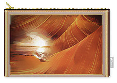 The Desert And The Tide Fantasy Carry-all Pouch