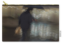 Carry-all Pouch featuring the photograph The End Of A Long Day by Alex Lapidus