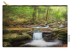 Carry-all Pouch featuring the photograph The Ethereal Forest 2 by Bill Wakeley