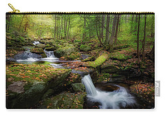 Carry-all Pouch featuring the photograph The Ethereal Forest by Bill Wakeley