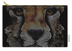 The Face Of A Cheetah Carry-all Pouch