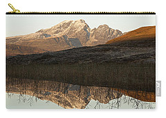 Carry-all Pouch featuring the photograph The First Hint Of Winter At Loch Cill Chriosd by Stephen Taylor