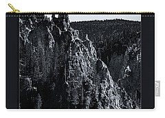 Carry-all Pouch featuring the photograph The Grand Canyon Of The Yellowstone by Pete Federico