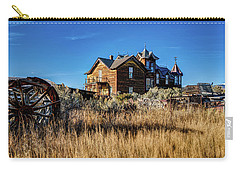 Carry-all Pouch featuring the photograph The House by Pete Federico