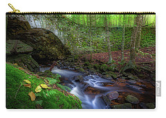 Carry-all Pouch featuring the photograph The Lost Bridge by Bill Wakeley