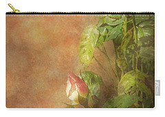 Carry-all Pouch featuring the photograph The Lovely Rose by Mike Savad - Abbie Shores