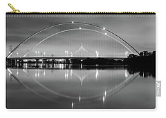 Carry-all Pouch featuring the photograph The Margaret Mcdermott Bridge by Robert Bellomy