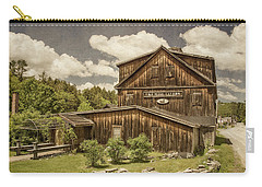 Carry-all Pouch featuring the photograph The Mill Tavern by Guy Whiteley