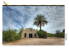 Carry-all Pouch featuring the photograph The Oasis by Joe Sparks