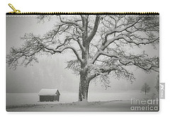 Carry-all Pouch featuring the photograph The Old Oak by Edmund Nagele