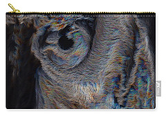 The Old Owl That Watches Carry-all Pouch
