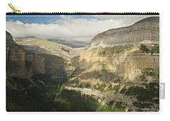 Carry-all Pouch featuring the photograph The Ordesa Valley by Stephen Taylor