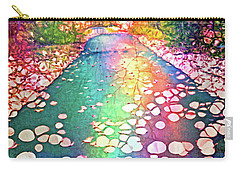 The Path Where Rainbows Meet Carry-all Pouch