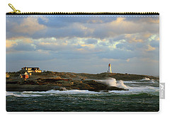 The Peggy's Cove Seascape Carry-all Pouch