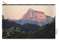 Carry-all Pouch featuring the photograph The Pena Montanesa by Stephen Taylor