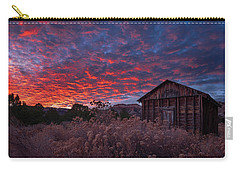 Carry-all Pouch featuring the photograph The Perfect Sunset by Edgars Erglis