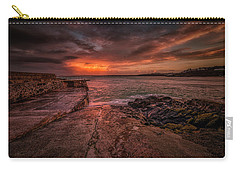 The Pier Sunset Carry-all Pouch