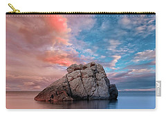 The Rock And The Sea Carry-all Pouch