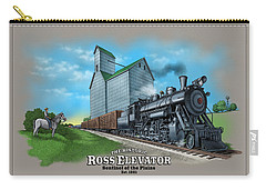 The Ross Elevator Sentinel Of The Plains Carry-all Pouch
