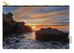 The Sea In Oropesa At Sunrise On The Orange Blossom Coast Carry-all Pouch