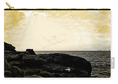 Carry-all Pouch featuring the photograph The Sea   by Lucia Sirna