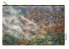Carry-all Pouch featuring the photograph The Shoulder Of Greylock by Raymond Salani III