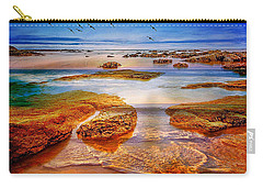 The Silent Morning Tide Carry-all Pouch