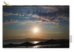 Carry-all Pouch featuring the photograph the Sky above Us by Milena Ilieva