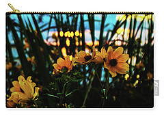 The Sunflower's Sunset Carry-all Pouch