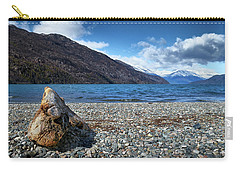 The Trunk, The Lake And The Mountainous Landscape Carry-all Pouch