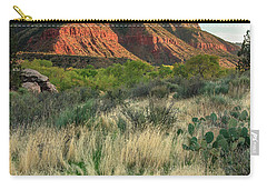 Carry-all Pouch featuring the photograph The Watchman by Adam Romanowicz