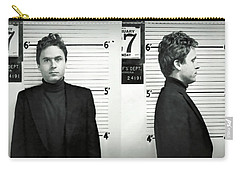 Ted Bundy Digital Art Carry-All Pouches
