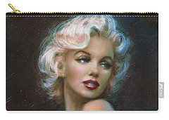 Theo's Marilyn Ww Blue Carry-all Pouch