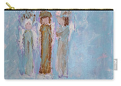 Three Friendly Angels Carry-all Pouch