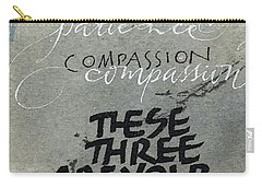 Three Treasures Carry-all Pouch