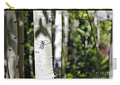Through The Aspen Forest Carry-all Pouch