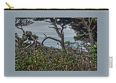 Carry-all Pouch featuring the photograph Through The Foliage by Thom Zehrfeld