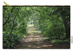 Carry-all Pouch featuring the photograph Through The Forest by Dale Kincaid