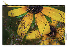 Carry-all Pouch featuring the photograph Through The Meadow Grasses by Dale Kincaid