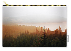Carry-all Pouch featuring the photograph Through The Mist by Milena Ilieva