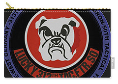 The 313th Tactical Fighter Squadron Carry-all Pouch