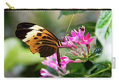 Tiger Longwing Butterfly Drinking Nectar  Carry-all Pouch